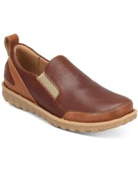 Born - Pepper Double Gore Slip-on Loafers - Lyst
