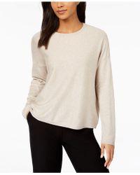 Eileen Fisher - ® Crew-neck Sweater - Lyst