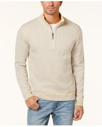Tommy Bahama - Men's Flip-side Classic Pima Cotton Sweater - Lyst