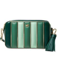 Michael Kors - Michael Quilted Leather Tricolor Camera Bag - Lyst