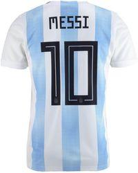 09e57381696 adidas - Lionel Messi Argentina National Team Home Stadium Jersey - Lyst