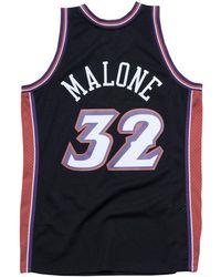 2f0595cf2 Mitchell   Ness - Karl Malone Utah Jazz Hardwood Classic Swingman Jersey -  Lyst