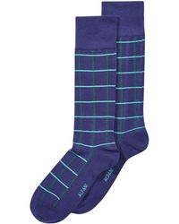 Alfani - Windowpane-plaid Dress Socks, Created For Macy's - Lyst