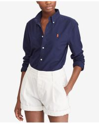 Polo Ralph Lauren - Relaxed Fit Oxford Cotton Shirt - Lyst