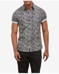 Kenneth Cole - City Windows Printed Shirt - Lyst