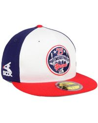 official photos ee3cd 2b756 KTZ - Chicago White Sox Ultimate Patch Collection Front 59fifty Fitted Cap  - Lyst