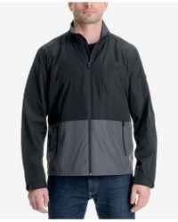 Michael Kors - Big & Tall Colorblocked Logo-print Windslicker Jacket - Lyst