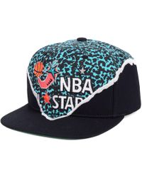 reputable site 0b95c b4c51 Mitchell   Ness Los Angeles Lakers Town Snapback Cap in Black for Men - Lyst