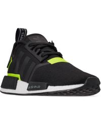 a7aa770e42410 Lyst - adidas Nmd R1 Casual Sneakers From Finish Line in Gray for Men