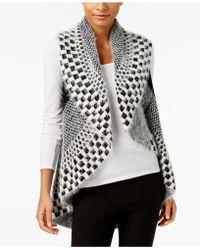 Olivia & Grace - Printed Eyelash Vest - Lyst