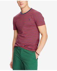 Polo Ralph Lauren - Men's Striped T-shirt - Lyst