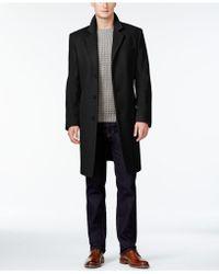 Michael Kors - Coat, Slim-fit Madison Cashmere-blend Overcoat - Lyst