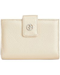 Giani Bernini - Softy Leather Index Wallet, Created For Macy's - Lyst