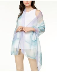 INC International Concepts - I.n.c. Ombré Geo Pleated Wrap, Created For Macy's - Lyst