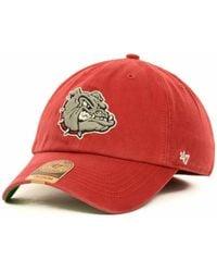 47 Brand | Gonzaga Bulldogs Ncaa '47 Franchise Cap | Lyst