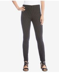 Karen Kane - Mini Dot Piper Skinny Trousers - Lyst