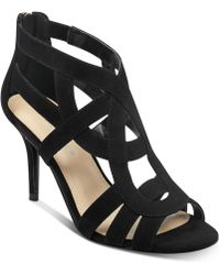 Marc Fisher - Nala Mid Heel Evening Sandals - Lyst