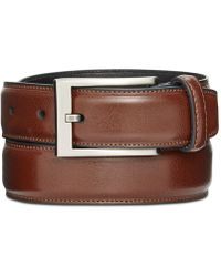Alfani - Men's Big & Tall Feather-edge Dress Belt - Lyst