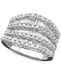 Effy Collection - Diamond Ring In 14k White Gold (1-1/2 Ct. T.w.) - Lyst