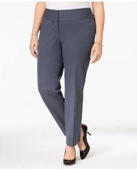 Alfani - Plus Size Straight-leg Pants - Lyst