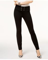 INC International Concepts - Lace-up Skinny Pants - Lyst