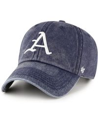 best service 84e85 41bf2 47 Brand Los Angeles Dodgers Otsego Baseball Hat in Blue for Men - Lyst