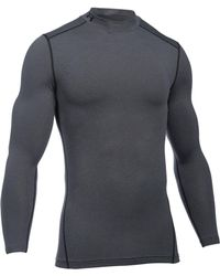 Under Armour - Mock Neck Long-sleeve T-shirt - Lyst