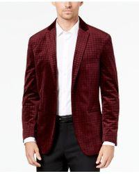 Alfani - Textured Velvet Sport Coat, Created For Macy's - Lyst