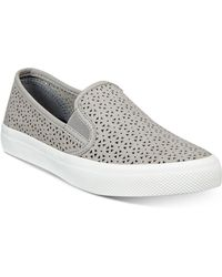 Sperry Top-Sider - Seaside Perforated Slip-on Sneakers, A Macy's Exclusive Style - Lyst