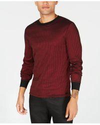Guess - Mens Voyager Ribbed Shirt - Lyst