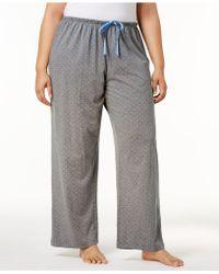 Hue - Rio Dots Plus Size Polka-dot Pyjama Trousers - Lyst