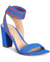 64a058d54b0 INC International Concepts - Kiernan Stretch Ankle Two-piece Block-heel  Sandals