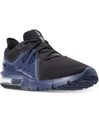 Nike - Men's Air Max Sequent 3 Se Running Sneakers From Finish Line - Lyst