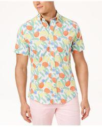Tommy Hilfiger - Big & Tall Banana Tropic Shirt - Lyst