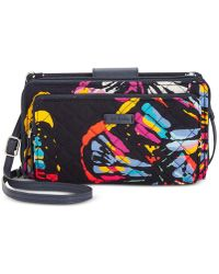 Vera Bradley - Iconic Deluxe All Together Crossbody - Lyst