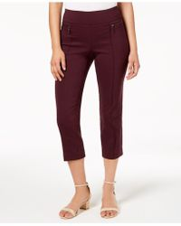 Style & Co. - Pull-on Cropped Pants, Created For Macy's - Lyst