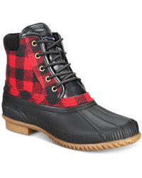 f8cf5c032ff24f Tommy Hilfiger - Casey Waterproof Duck Boots Created For Macy s - Lyst