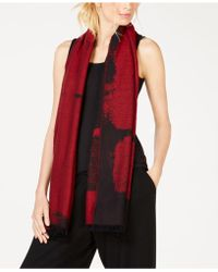 Eileen Fisher - Organic Cotton Printed Scarf - Lyst