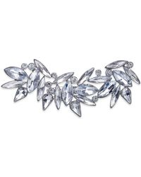 INC International Concepts - Silver-tone Crystal Cluster Horizontal Pin - Lyst