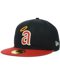 6b95a9518f46d8 KTZ Washington Nationals Mlb Cooperstown 59fifty Cap in Blue for Men - Lyst