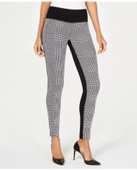INC International Concepts - I.n.c. Plaid-contrast Pull-on Pants, Created For Macy's - Lyst