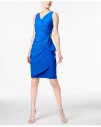 f3fcfa04 Alex Evenings - Compression Embellished Ruched Sheath Dress - Lyst
