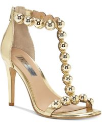 INC International Concepts - Raechelle T-strap Dress Sandals, Created For Macy's - Lyst