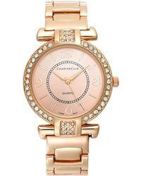 Charter Club - Rose Gold-tone Bracelet Watch 35mm - Lyst