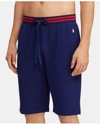 3a2eb29e23 Lyst - Denim & Supply Ralph Lauren Striped French Terry Short for Men