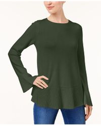 Style & Co. | Petite Ruffled Sweater | Lyst