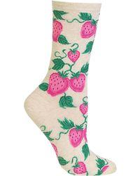 Hot Sox - Strawberry Socks - Lyst