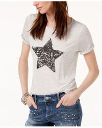 INC International Concepts - I.n.c. Embellished Star T-shirt, Created For Macy's - Lyst