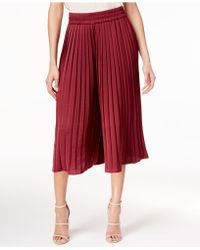 Olivia & Grace - Pleated Culotte Trousers - Lyst