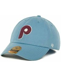 bb89d74dc26 Lyst - 47 Brand Philadelphia Phillies Bravado Bucket Hat in Red for Men